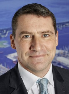 Geschäftsführer der Hafenentwicklungsgesellschaft Rostock HERO Jens Aurel Scharner Foto: rostock port/ nordlicht